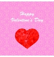 Happy Valentines Day Romantic Banner vector image vector image