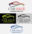 Car Sale Logo vector image