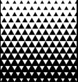 halftone triangular pattern abstract vector image