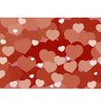 Valentine Hart Background vector image vector image