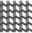3d abstract black-white background vector image vector image