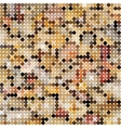 Pastel colorful mosaic background vector image