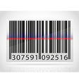 barcode 04 vector image vector image