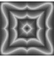 Design monochrome square dots background vector image