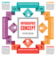 Infographic Concept - Abstract Scheme vector image