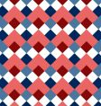 pattern rhombus vector image