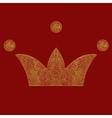 lace crown art royal symbol Imperial vector image
