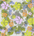 seamless texture flowers vector image vector image