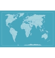 High Detail World map All elements are separated vector image