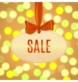 sale day poster template vector image