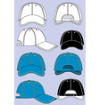 Baseball caps vector