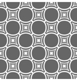Simple seamless gray and white geometric pattern vector image