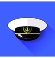 Seilor Hat Icon Isolated vector image