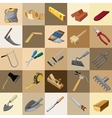 Great set of instruments 25 elements vector image