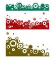 landscape graphic elements vector image vector image