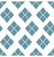 Abstract seamless geometric pattern Monochrome vector image