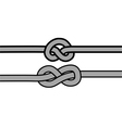 knot vector image vector image