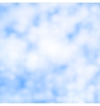 Cirrus clouds vector image