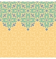 seamless border pattern oriental ornament vector image vector image