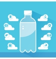 Water Health Benefits Infographics Template A vector image
