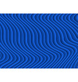 Blue Striped 3D Texture vector image