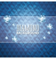 Diamond icon Elegant concept Gem design vector image