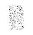 Letter logotype design vector image