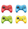 Gamepad Set vector image vector image