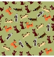 cute dog or puppy vector image