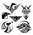 Dragon Symbols vector image