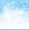 Blue holiday light background vector image