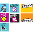 cute doodle icon vector image