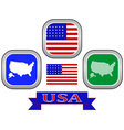 symbol of UNITED STATES OF AMERICA vector image