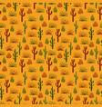 wild nature desert seamless pattern vector image
