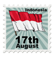 national day of Indonesia vector image