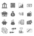 Business Finance Icons vector image