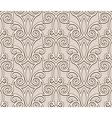 Beige lace pattern vector image