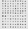 Web icons 50 vector image