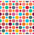 Seamless pattern with dots vector image