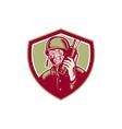 World War Two Soldier American Talk Radio Crest vector image vector image