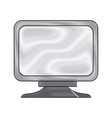 screen monitor device technology icon vector image