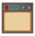 Guitar amplifier icon cartoon style vector image