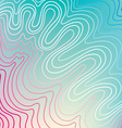 Abstract blue background waves vector image