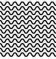 wave pattern design graphic wavy lines vector image