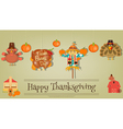 Thanksgiving Poster vector image vector image