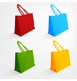 Beach bag vector image