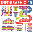 Infographic Elements 15 vector image vector image