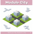 Urban module vector image vector image