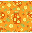 fresh sangria pattern vector image
