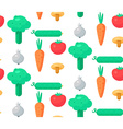 Fresh Vegetable Salad vector image